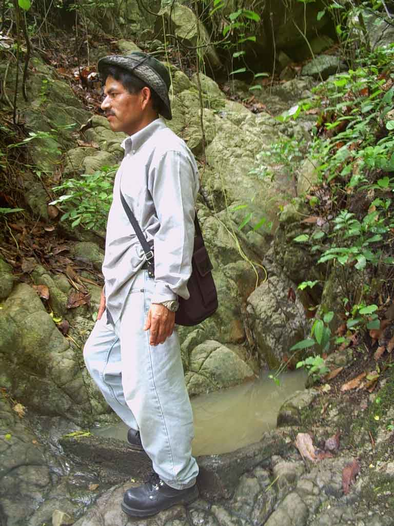 Small natural spring